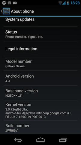 Random Stuff: Root Android 4 3 Galaxy Nexus from OS X
