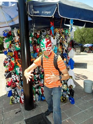 Trying to be a luchador in Mexico