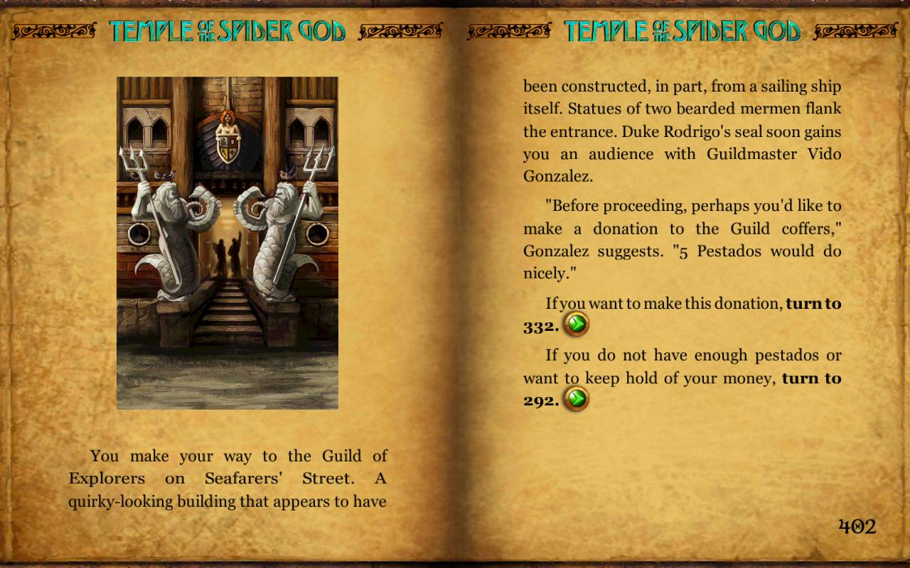 GA7: Temple of the Spider God - screenshot