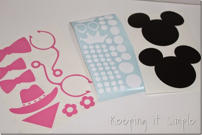 Disney themed notebooks (4)