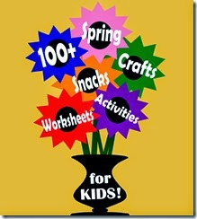 100 Spring Crafts and Kids ACtivities