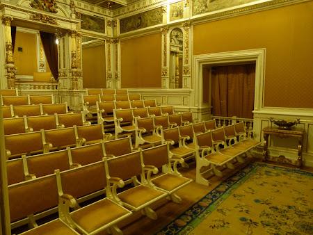 Sala de Cinematograf din castelul Peles