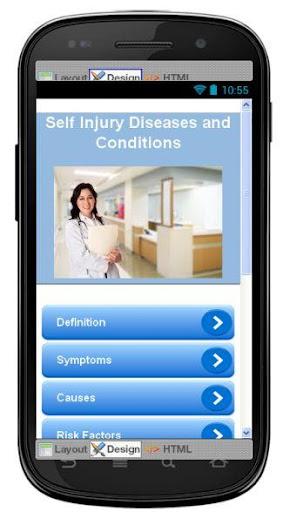 Self Injury Disease Symptoms