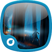Rain Night Icons & Wallpapers
