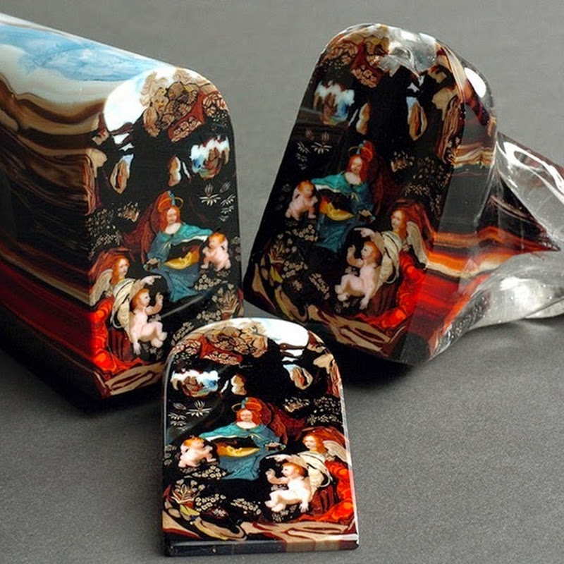 The Art of Murrine: Glass Portraits That Slices Like Loaves of Bread