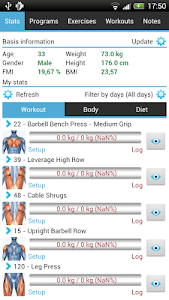 Fitness, Bodybuilding & Logs v2.5.1