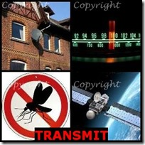TRANSMIT- 4 Pics 1 Word Answers 3 Letters