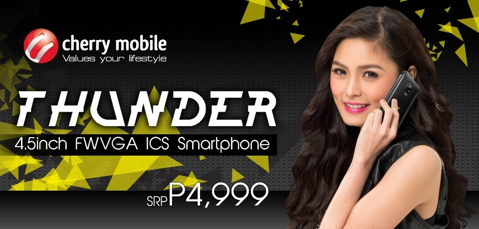Cherry Mobile Thunder Complete Specs and Price