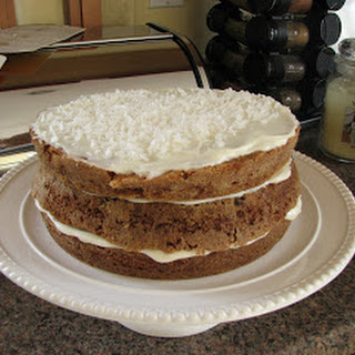 Big Bill's Carrot Cake