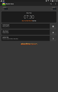 Alarm Clock - Electric Dawn- screenshot thumbnail