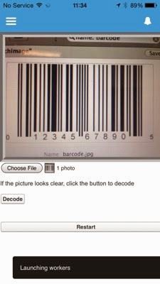 Bob Buzzard Blog: Reading Barcodes in Salesforce1