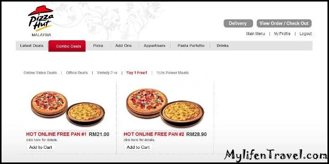 Pizza Hut online 15