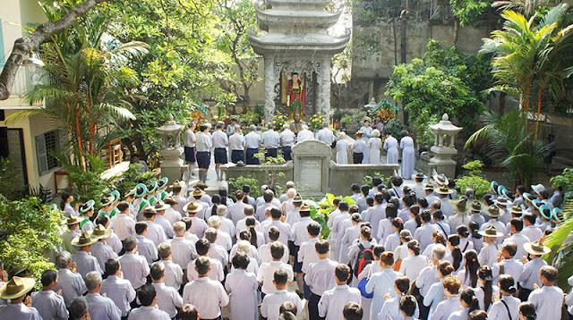 DSC06313 Lễ Hiệp kỵ   Lễ Huý Nhật Cư sĩ Sáng lập viên GĐPT Việt Nam   Tâm Minh Lê Đình Thám