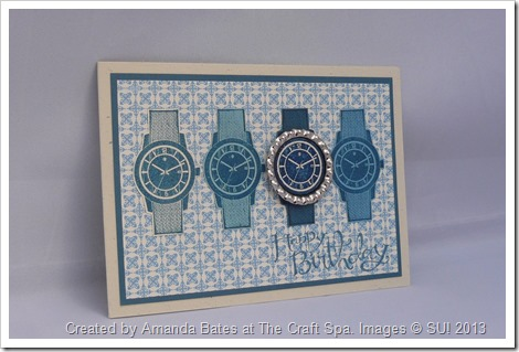 2013_03_Amanda Bates at The Craft Spa,UK Stampin Up demonstrator, Dapper Dad Watch  (1)