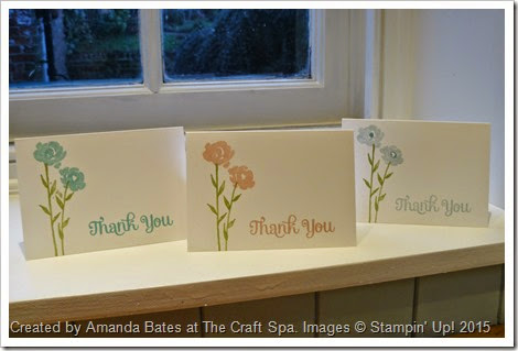 Painted Petals Thank You Notecards, Amanda Bates, The Craft Spa, 2015_01 (6)