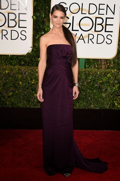 Katie Holmes attends the 72nd Annual Golden Globe Awards2