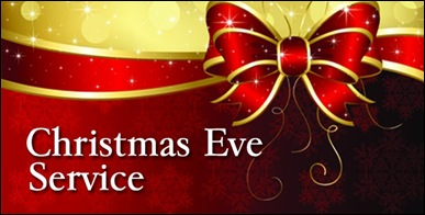 christmas eve service banner - photo #3
