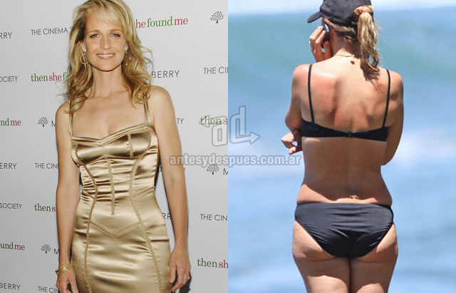 Cellulite of Helen Hunt