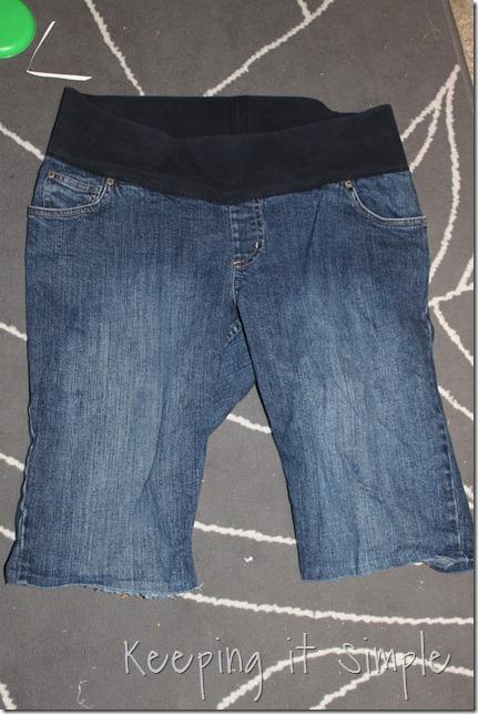 jean skirt refashion (1)