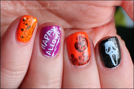 Halloween Nail Art Mix n Match 4