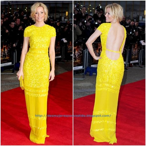 Elizabeth Banks Hunger Games London premiere