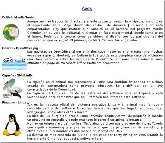 la fauna del software libre_1