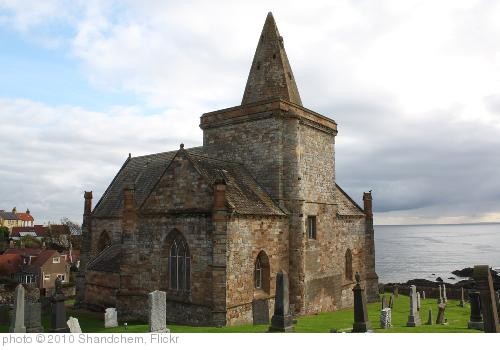 'St. Monan's Church, Fife which is Gothic in design orginally planned to be cruciform in shape when built in the 14th century.' photo (c) 2010, Shandchem - license: http://creativecommons.org/licenses/by-nd/2.0/