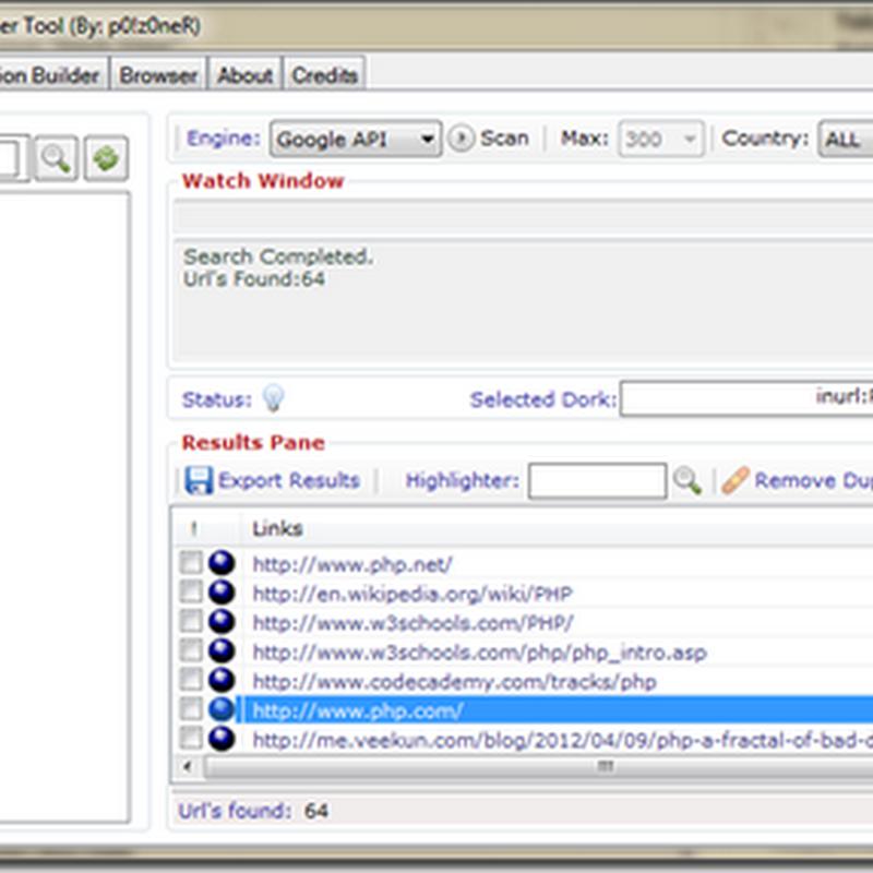 Mencari Website Vuln Dengan Sql Poizon Exploit Scanner New!! 2017