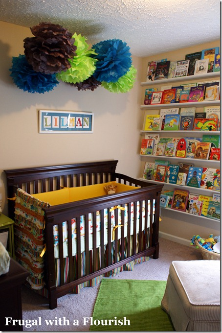 Frugal with a Flourish: Nursery Reveal!