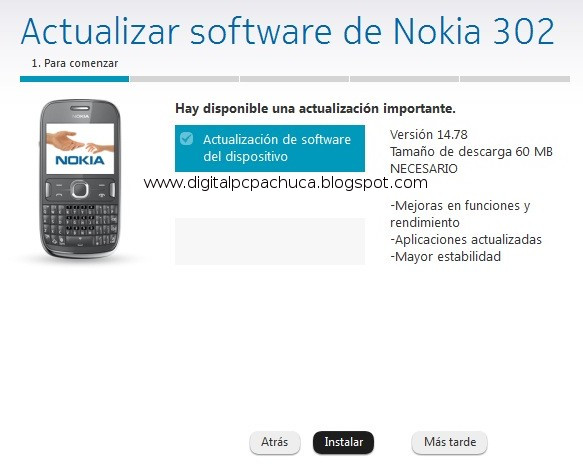 nokia software update descargar descargar nokia software update 1 4