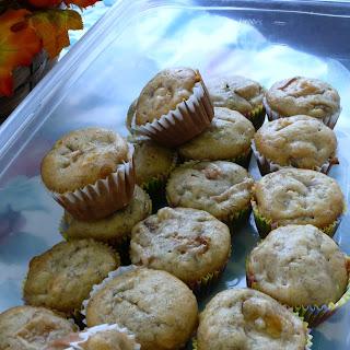 Pear Banana Muffins   Adapted from allrecipes.com