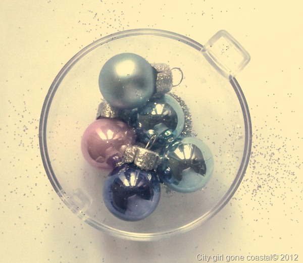 baubles and glitter