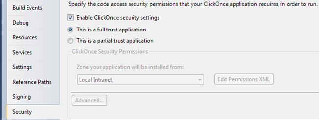 Something on  net: How to disable Yes/No security message of