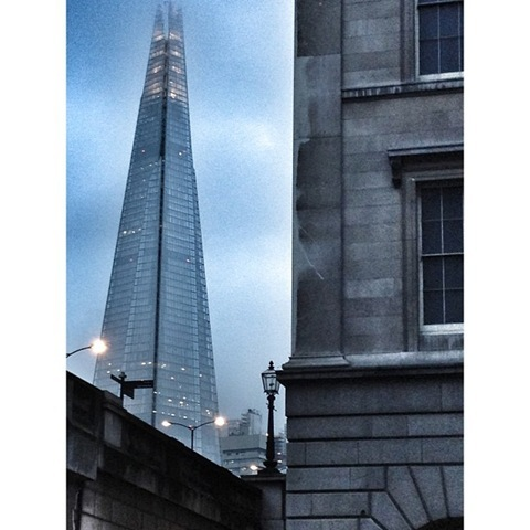 The Shard and Fishmongers Hall