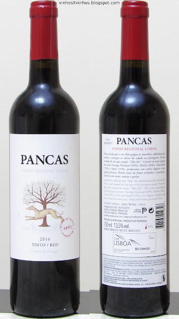 Vinho Pancas Tinto
