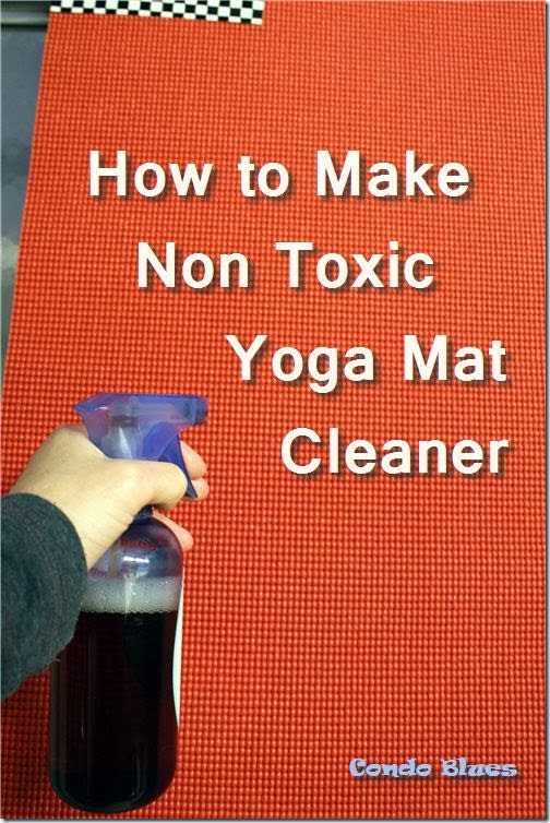 can I wash a yoga mat