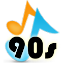 90's Fun Music Game logo
