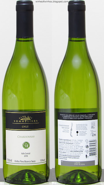 Club des sommeliers Chardonnay