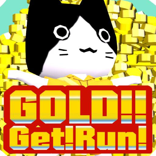 GOLD!!Get!Run! 動作 App LOGO-APP試玩
