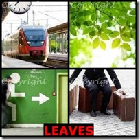 LEAVES- 4 Pics 1 Word Answers 3 Letters