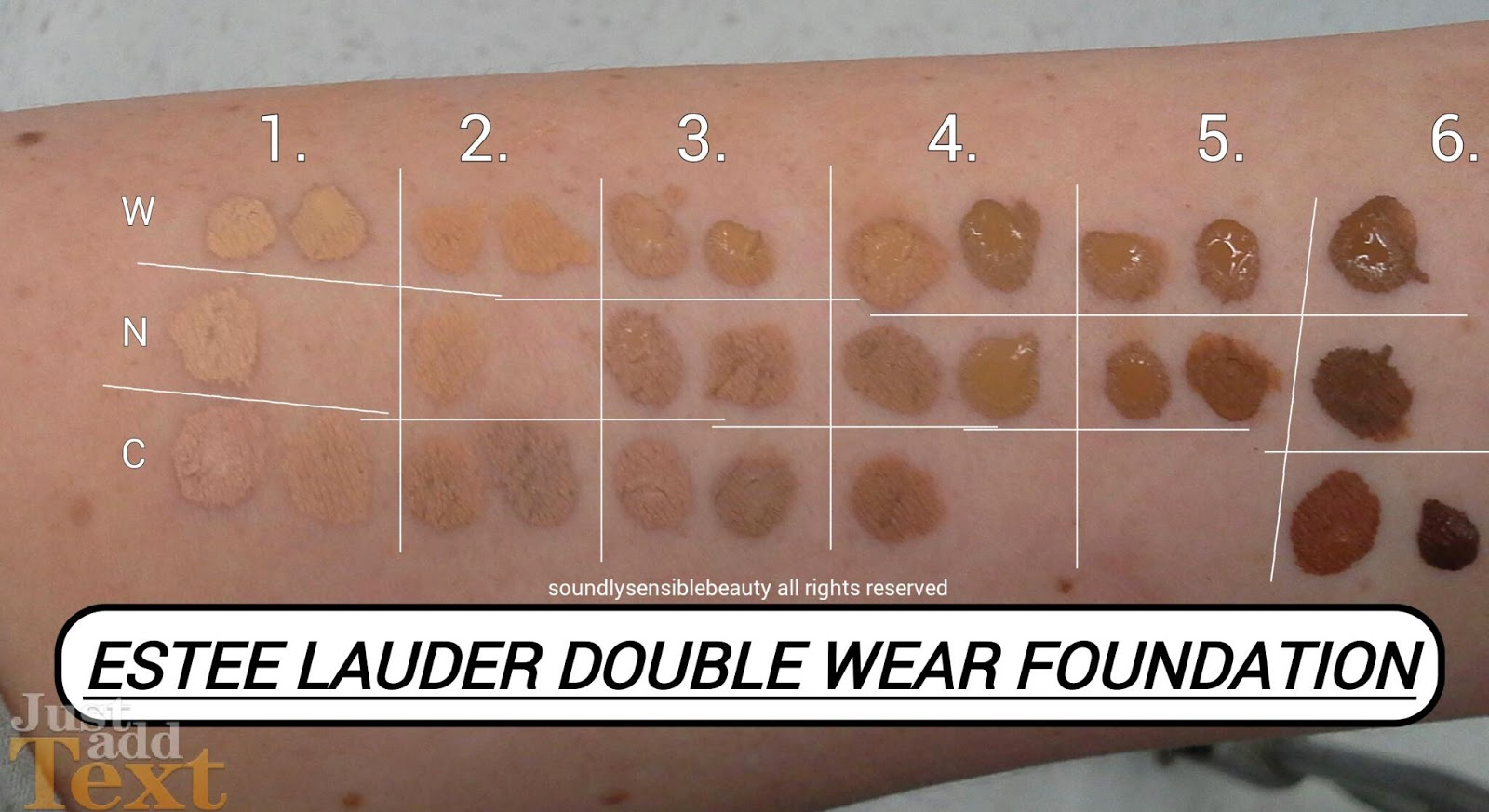 estee lauder double wear foundation review swatches of. Black Bedroom Furniture Sets. Home Design Ideas