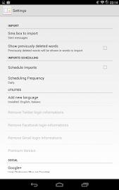 User Dictionary Plus (Free) Screenshot 5