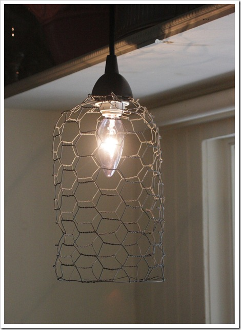 Anthropologie Inspired Pendant Light