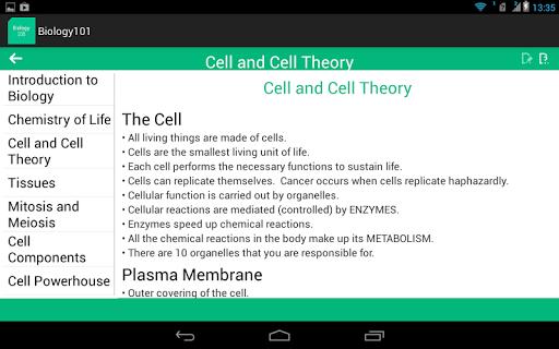 【免費書籍App】Biology 101-APP點子