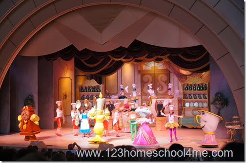 Beauty and the Beast Life on Stage is a don't miss musical show at Hollywood Studios