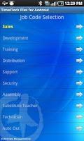 Screenshot of TimeClock Plus