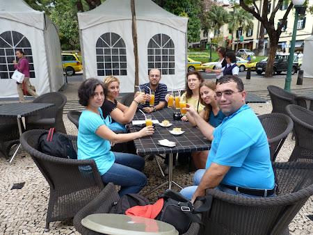 Bautura traditionala: poncha in Madeira