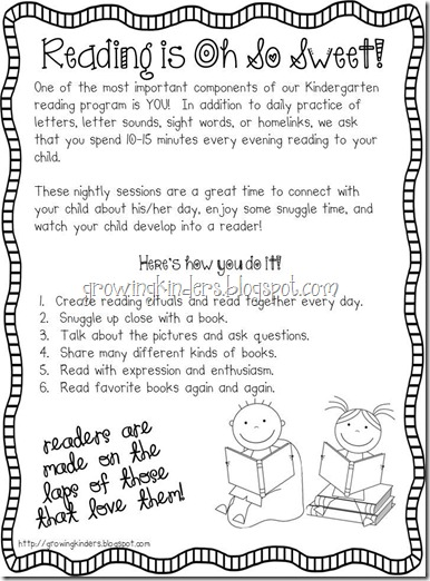monthly reading logs for home parent letter journal growing kinders reading is oh so sweet 884