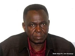 Professeur Mathieu Kalele. Radio Okapi/ Ph. John Bompengo