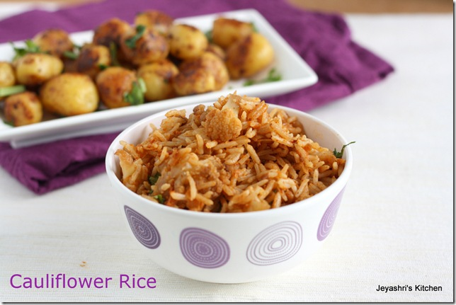 Cauliflower- rice